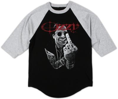 Raglan: Ozzy Osbourne - Middle Finger