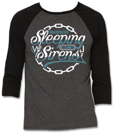 Raglan: Sleeping With Sirens - Chain Logo