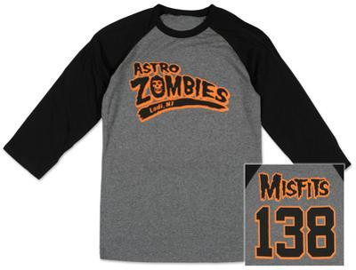 Raglan: The Misfits - Astro Zombies (Front/Back)