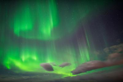 Aurora Borealis or Northern Lights, Abisko, Lapland, Sweden by Ragnar Th Sigurdsson