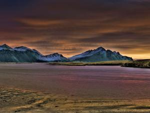 Colorful Landscape, Eystrahorn, Hornafjordur, Iceland by Ragnar Th Sigurdsson