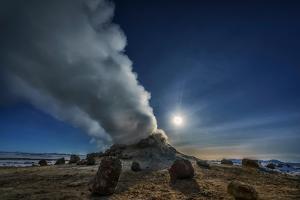 Geothermal Hot Springs, Hverarond, Namaskard, Iceland by Ragnar Th Sigurdsson