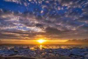 Icebergs-Jokulsarlon Glacial Lagoon, Breidamerkurjokull Glacier, Vatnajokull Ice Cap, Iceland by Ragnar Th Sigurdsson