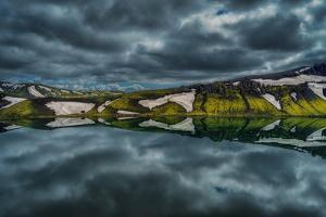 Lake Alftavatn, Central Highlands, Iceland by Ragnar Th Sigurdsson