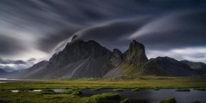 Mountain Landscape, Hvalsnes, Eastern Iceland by Ragnar Th Sigurdsson
