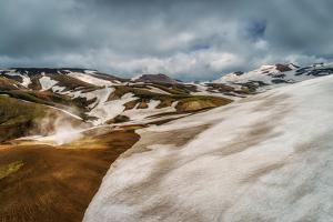 Mt. Torfajokull Area, Landmannalaugar, Central Highlands Iceland by Ragnar Th Sigurdsson