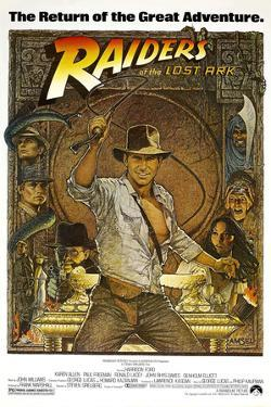 RAIDERS OF THE LOST ARK [1981], directed by STEVEN SPIELBERG.