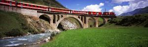 Railroad Bridge, Andermatt, Switzerland