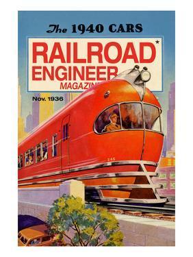 Railroad Engineer Magazine: the 1940 Cars