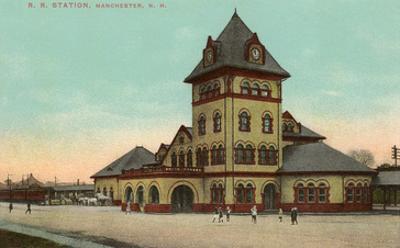 Railroad Station, Manchester, New Hampshire