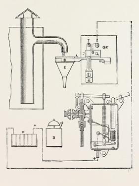 Railway Apparatus at the Paris Electrical Exhibition: Controller for Water Tanks (Lartigue System)