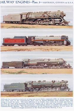 Railway Engines, Australia and Canada