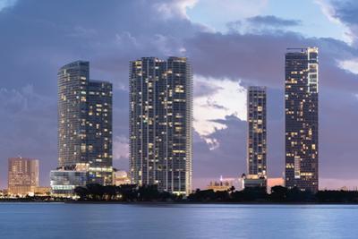 Miami Waterfront at Dusk