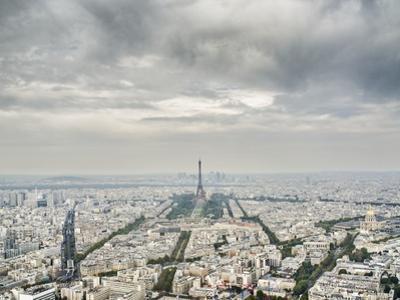 Paris skyline with the Eiffel Tower