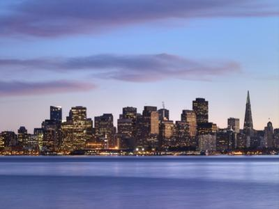 San Francisco skyline seen from Yerba Buena Island