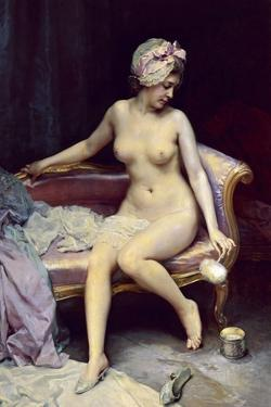 After the Bath, 1878 by Raimundo Madrazo