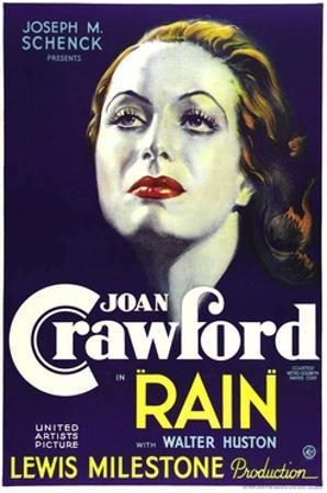Rain, Joan Crawford, 1932
