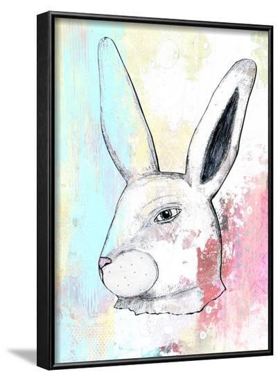 Rainbow Bunny 2-Sarah Ogren-Framed Art Print