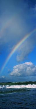 Rainbow over Ocean, Oahu, Hawaii, USA