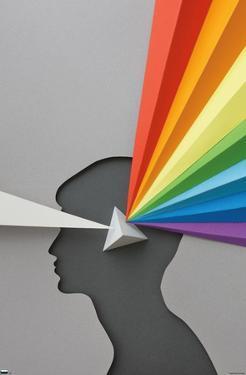 Rainbow Paper Prism
