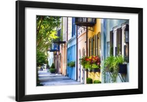 Rainbow Row I  Charleston South Carolina
