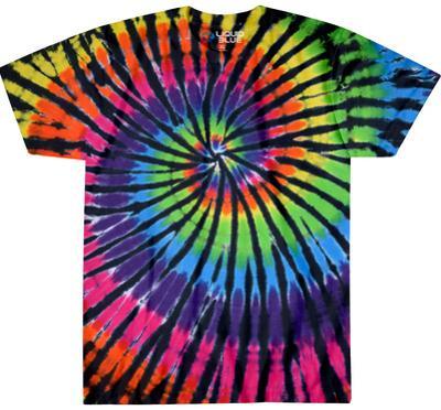 Rainbow Spiral Streak