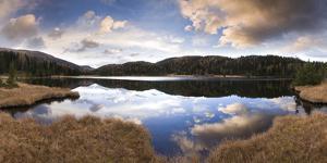 Austria, Styria, Preber-See, Landscape, Cloudy-Mood by Rainer Mirau