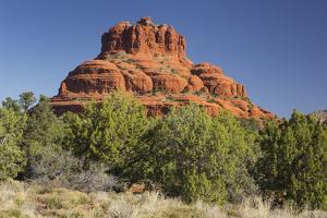 Bell Rock, Sedona, Arizona, Usa by Rainer Mirau