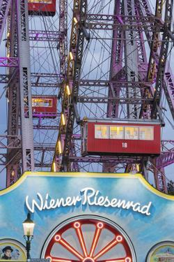 Big Wheel, Prater, 2nd District, Vienna, Austria by Rainer Mirau