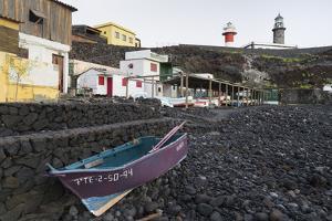 Boathouses at Salinas De Fuencaliente, Island La Palma, Canary Islands, Spain by Rainer Mirau