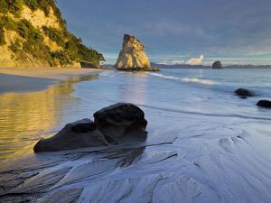 Cathedral Cove, Hahei, Coromadel Peninsula, Waikato, North Island, New Zealand by Rainer Mirau