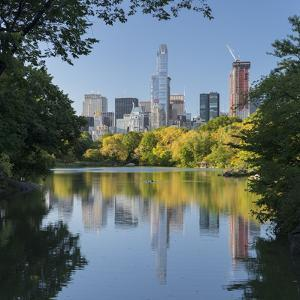 Central Park, Manhattan, New York by Rainer Mirau