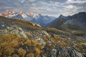 Col De Fen?e, Mont Dolent, Monts Telliers, Valais, Switzerland by Rainer Mirau