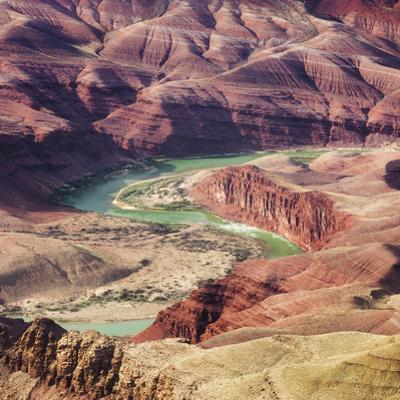 Colorado River as Seen from the Lipan Point, Grand Canyon National Park, Arizona, Usa by Rainer Mirau