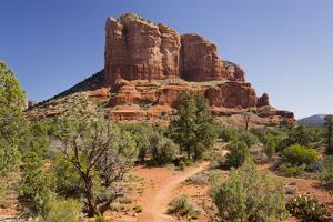 Courthouse Butte, Bell Rock Trail, Sedona, Arizona, Usa by Rainer Mirau