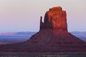 East Mitten, Monument Valley, Navajo Tribal Park, Arizona, Usa by Rainer Mirau