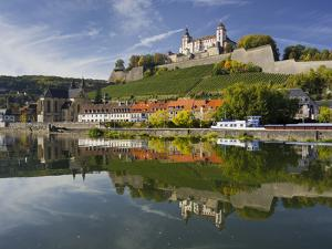 Fortress Marienberg, Main (River), WŸrzburg (City), Bavaria, Germany by Rainer Mirau