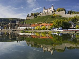 Fortress Marienberg, Main (River), WŸrzburg (City), Bavaria, Germany by Rainer Mirau