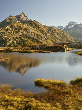 Garstenhorner, Grimselpass, Urner Alps, the Bernese Oberland, Switzerland by Rainer Mirau
