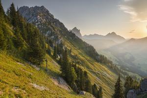 Gastlosen Mountain Range, Freiburg, Switzerland by Rainer Mirau