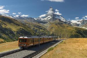 Gornergratbahn, Matterhorn, Valais, Switzerland by Rainer Mirau