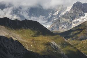 Grandes Jorasses, Valais, Switzerland by Rainer Mirau