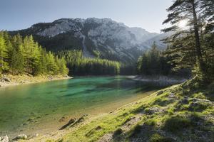 Green Lake, Upper Town, Hochschwab Area, Styria, Austria by Rainer Mirau