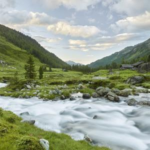 Hofalm, Debantbach, Debanttal, National Park Hohe Tauern, Tyrol, Austria by Rainer Mirau