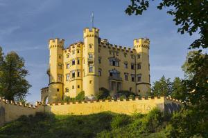 Hohenschwangau Castle, F?ssen, Allg?u, Upper Bavaria, Bavaria, Germany by Rainer Mirau
