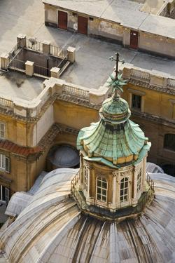 Italy, Rome, Vatican, Peter's Cathedral, Dome, Detail, Peter's Dome by Rainer Mirau