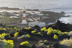Lighthouse Faro De Fuencaliente, Salinas De Fuencaliente, Island La Palma, Canary Islands, Spain by Rainer Mirau