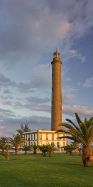 Lighthouse in Maspalomas, Gran Canaria, Canary Islands, Spain by Rainer Mirau