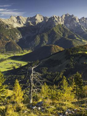 Lofer Mountains, Tyrol, Austria by Rainer Mirau