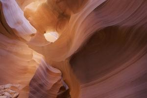 Lower Anthelope Canyon, Navajo Tribal Park, Page, Arizona, Usa by Rainer Mirau